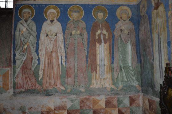 Ancuța Ilie, Reprezentarea sfintelor femei în bisericile pictate în timpul lui Ștefan cel Mare în Moldova, coordonator lect. dr. Vlad Bedros