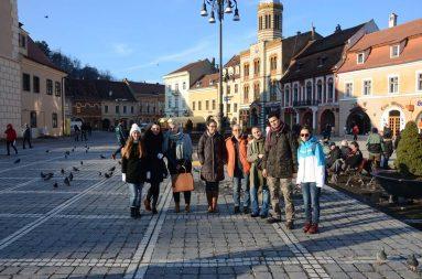 Excursie de studiu la Brașov