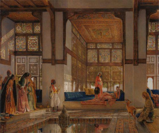 Emilia Cernăianu, Decorația orientală din pictura orientalistă de la sfârșitul secolului al XIX-lea, coordonator conf. dr. Ioana Beldiman
