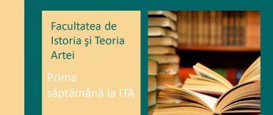 Prima săptămână la ITA!